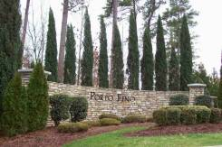 Porto Fino Entrance sign