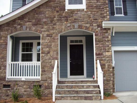 Phillips Place Front Porch