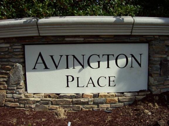 Avington Place Entrance Sign