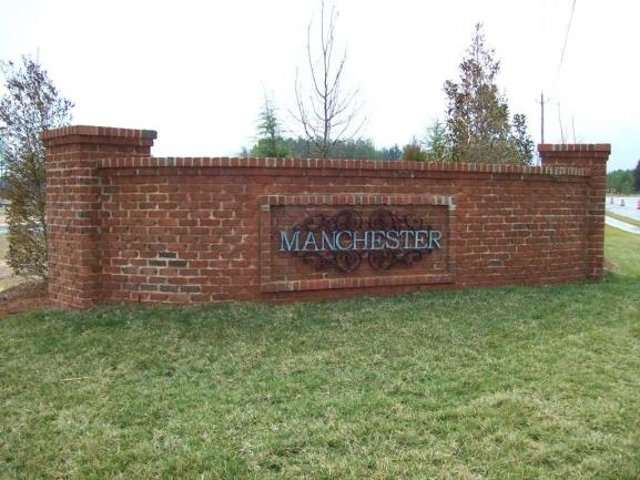 Manchester Park Entrance Sign