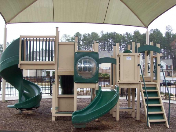 McC at the Park Playground