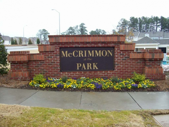 McCrimmon at the Park Entrance Sign
