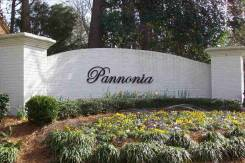Pannonia entrance sign